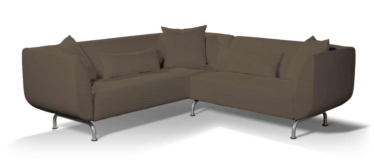 Pokrowiec na sofę narożną 3+2 Strömstad Sofa narożna 3+2 Stromstad w kolekcji Etna , tkanina: 705-08