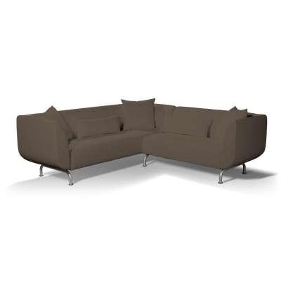 Pokrowiec na sofę narożną 3+2 Strömstad w kolekcji Etna, tkanina: 705-08