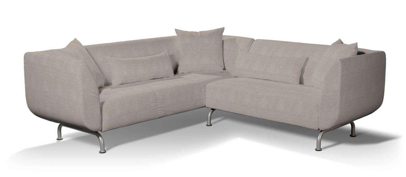 Pokrowiec na sofę narożną 3+2 Strömstad Sofa narożna 3+2 Stromstad w kolekcji Etna , tkanina: 705-09