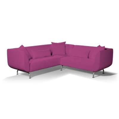 Pokrowiec na sofę narożną 3+2 Strömstad w kolekcji Etna, tkanina: 705-23