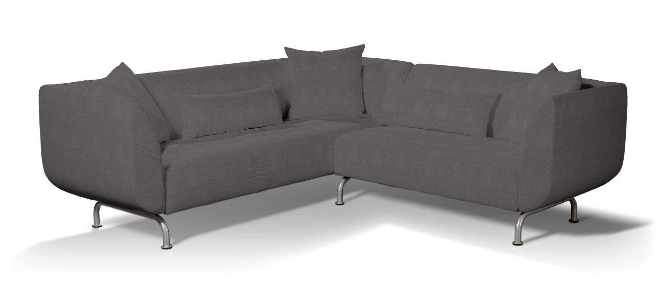 Pokrowiec na sofę narożną 3+2 Stromstad Sofa narożna 3+2 Stromstad w kolekcji Etna , tkanina: 705-35