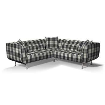 Pokrowiec na sofę narożną 3+2 Strömstad w kolekcji Edinburgh, tkanina: 115-74