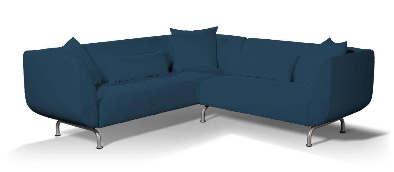 Pokrowiec na sofę narożną 3+2 Strömstad Sofa narożna 3+2 Stromstad w kolekcji Cotton Panama, tkanina: 702-30