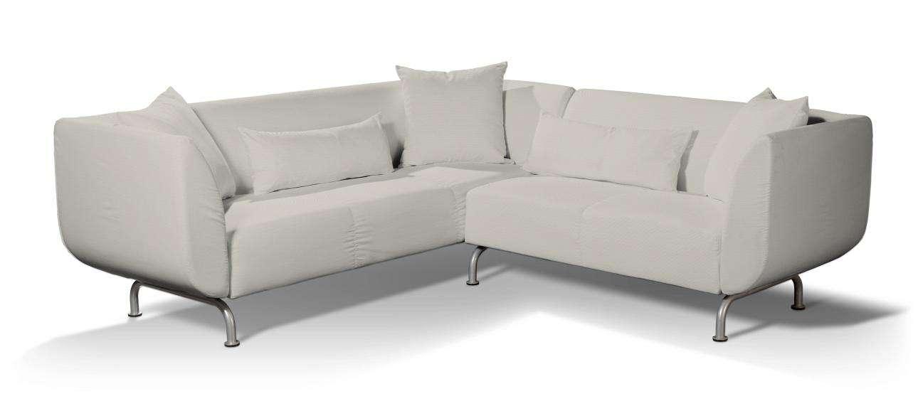 Pokrowiec na sofę narożną 3+2 Strömstad Sofa narożna 3+2 Stromstad w kolekcji Cotton Panama, tkanina: 702-31