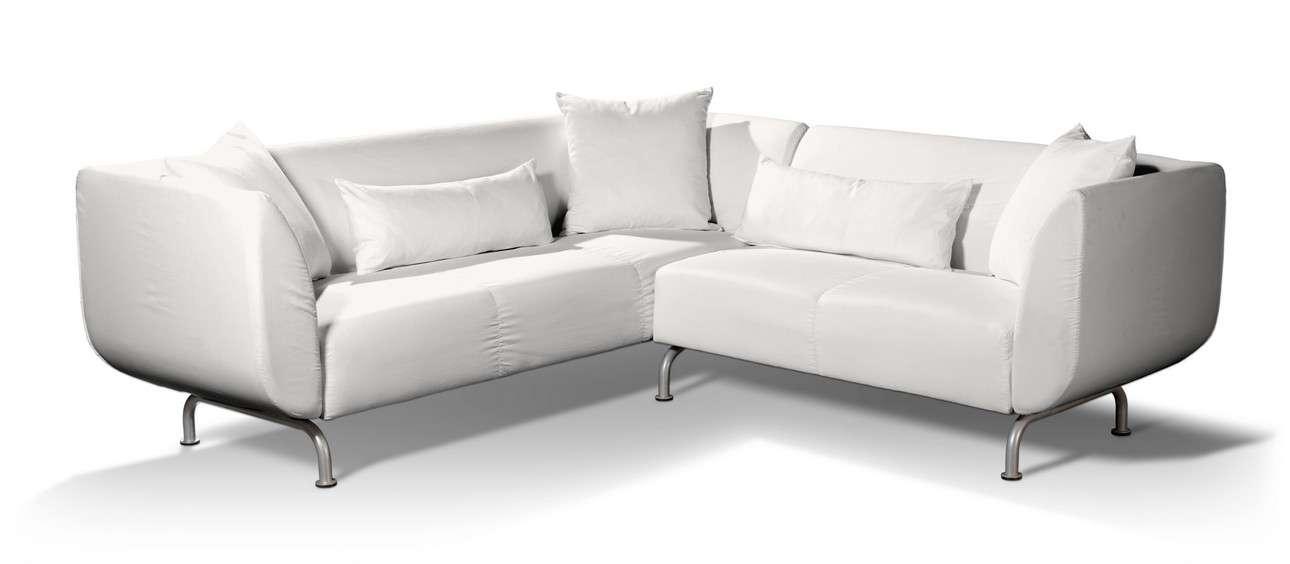 Pokrowiec na sofę narożną 3+2 Strömstad Sofa narożna 3+2 Stromstad w kolekcji Cotton Panama, tkanina: 702-34