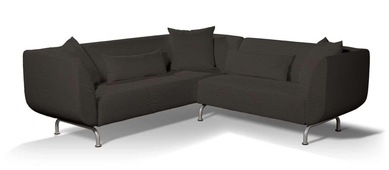 Pokrowiec na sofę narożną 3+2 Strömstad w kolekcji Etna, tkanina: 702-36