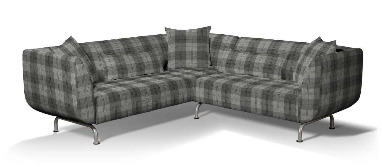 Pokrowiec na sofę narożną 3+2 Strömstad w kolekcji Edinburgh, tkanina: 115-75
