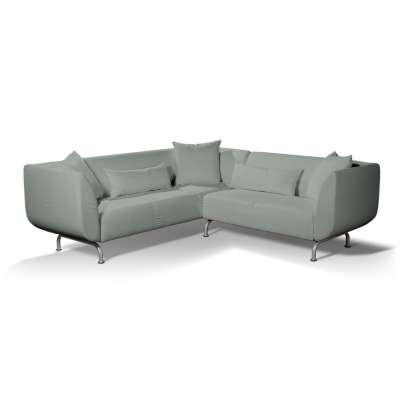 Pokrowiec na sofę narożną 3+2 Strömstad w kolekcji Living, tkanina: 160-86