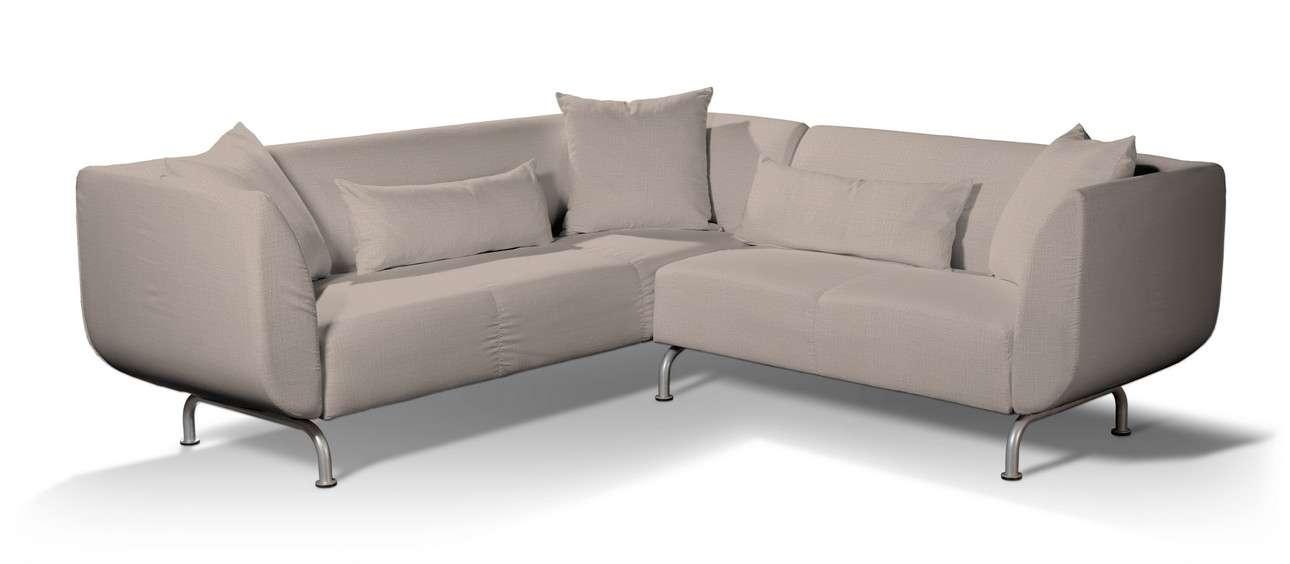Pokrowiec na sofę narożną 3+2 Strömstad w kolekcji Living II, tkanina: 160-85