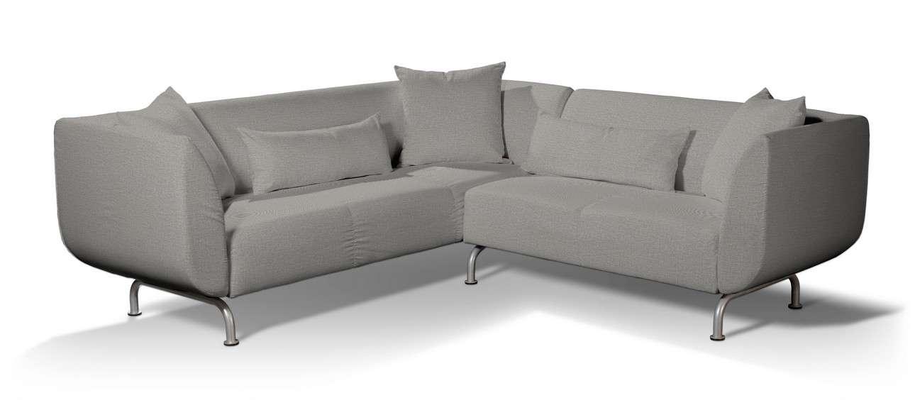 Pokrowiec na sofę narożną 3+2 Strömstad w kolekcji Living II, tkanina: 160-89