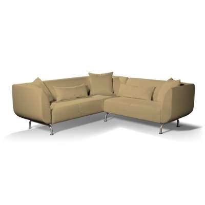 Pokrowiec na sofę narożną 3+2 Strömstad w kolekcji Living II, tkanina: 160-93