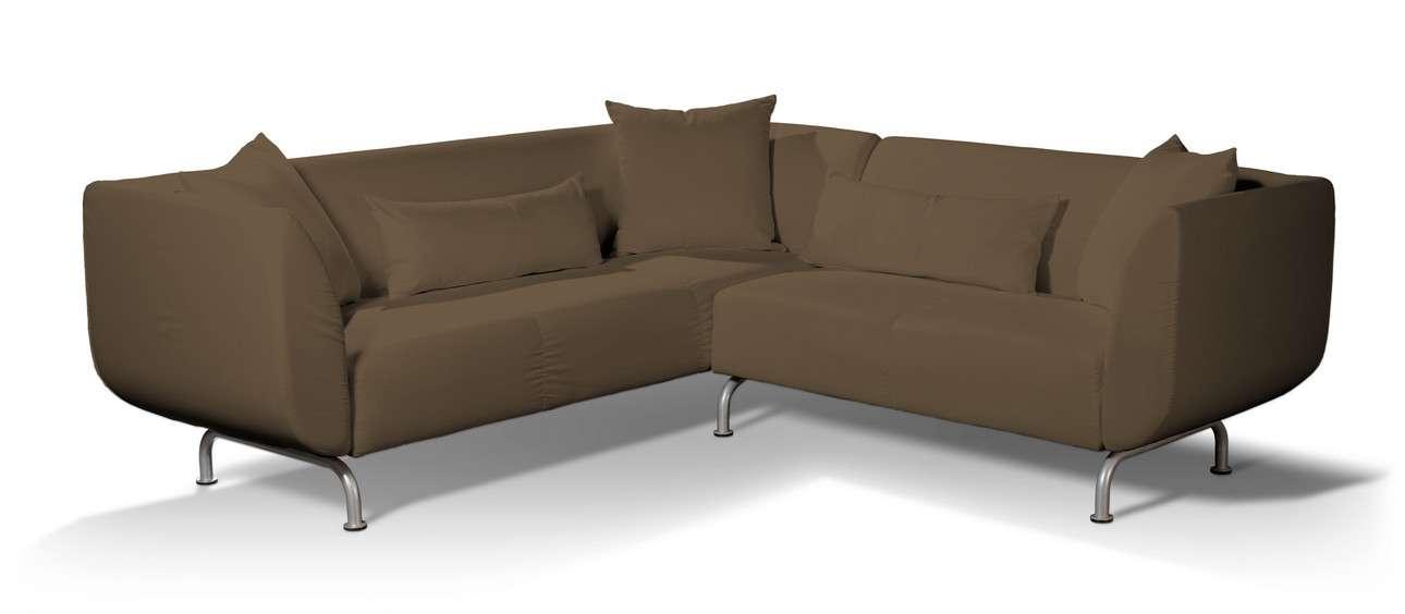 Pokrowiec na sofę narożną 3+2 Strömstad w kolekcji Living II, tkanina: 160-94