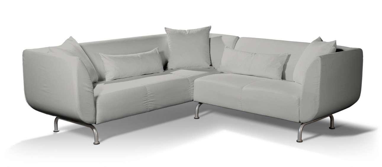 Pokrowiec na sofę narożną 3+2 Strömstad w kolekcji Living II, tkanina: 161-18