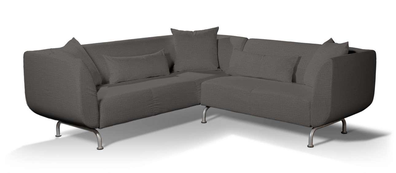 Pokrowiec na sofę narożną 3+2 Strömstad w kolekcji Living II, tkanina: 161-16