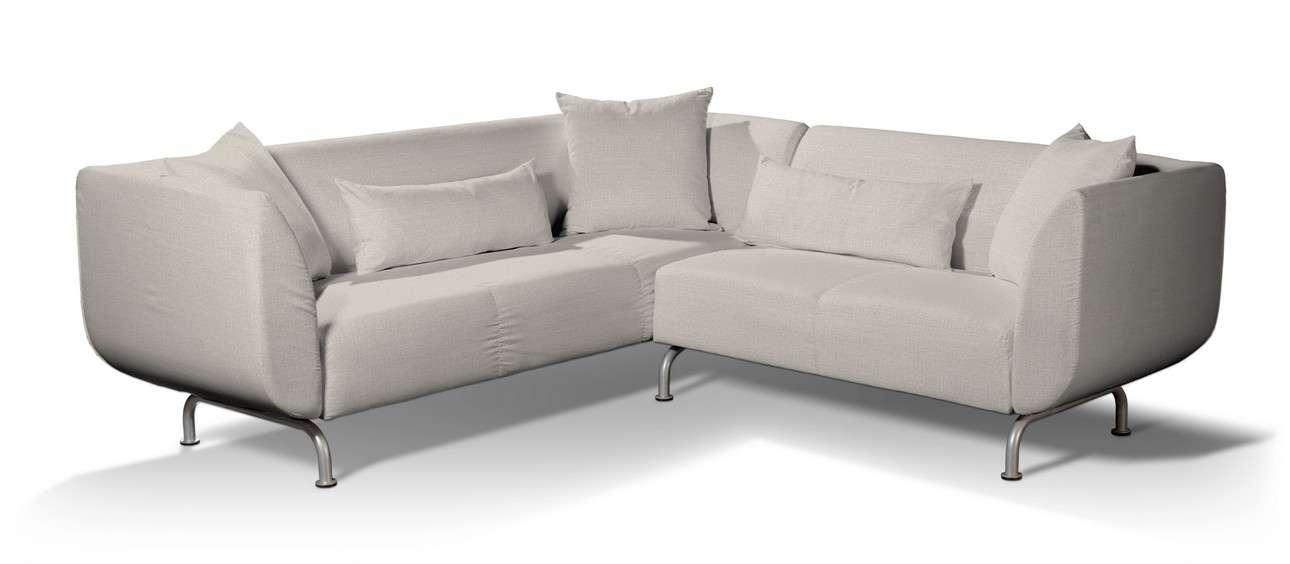 Pokrowiec na sofę narożną 3+2 Strömstad w kolekcji Living II, tkanina: 161-00