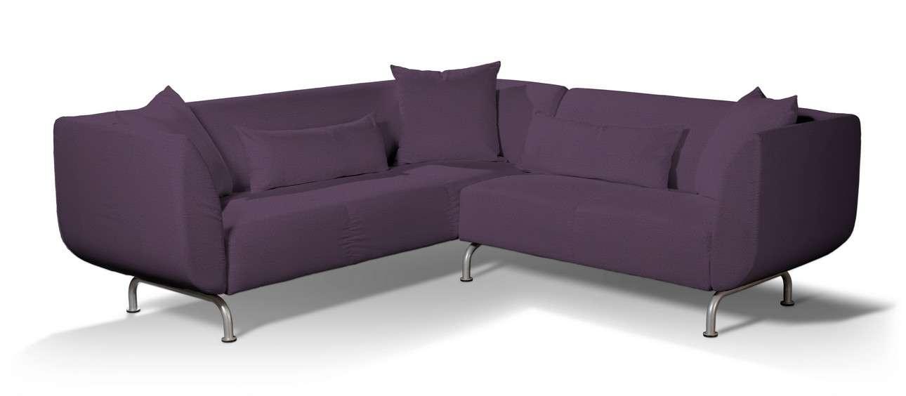 Pokrowiec na sofę narożną 3+2 Strömstad w kolekcji Etna, tkanina: 161-27