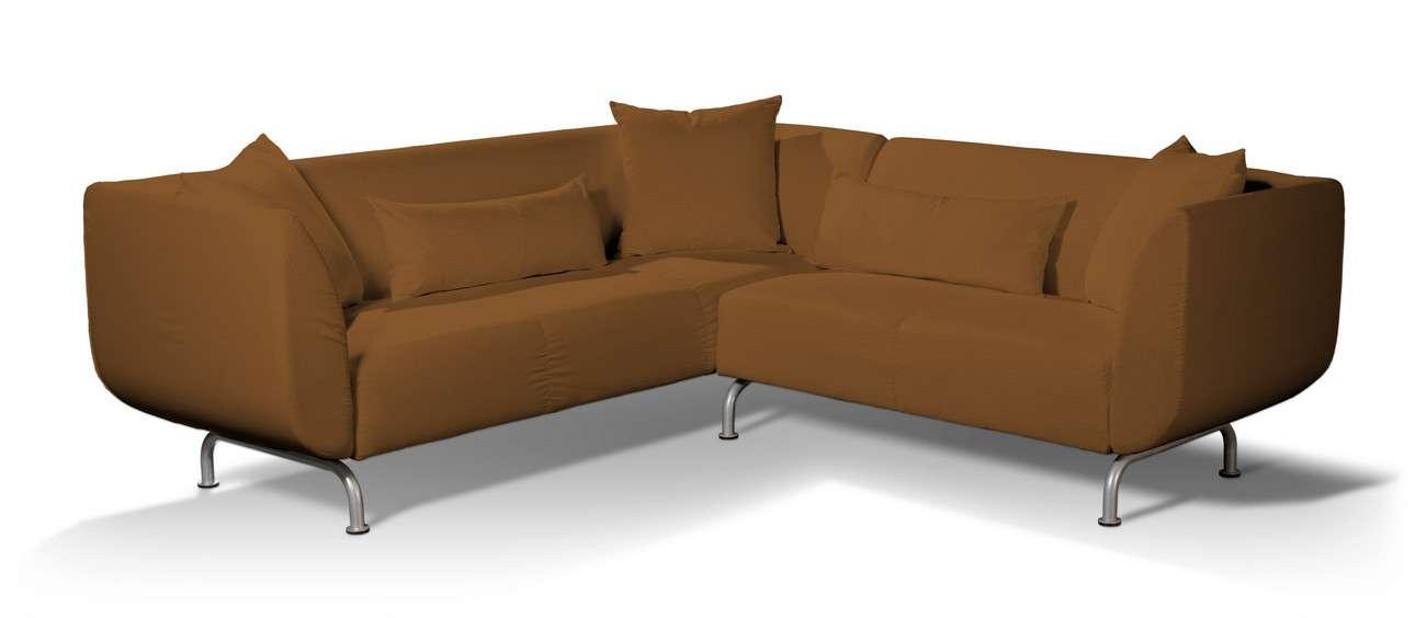 Pokrowiec na sofę narożną 3+2 Strömstad w kolekcji Living, tkanina: 161-28
