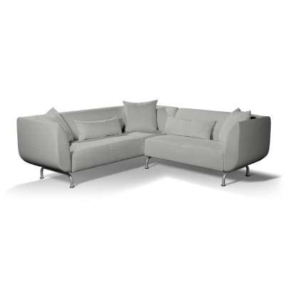 Pokrowiec na sofę narożną 3+2 Strömstad w kolekcji Bergen, tkanina: 161-72