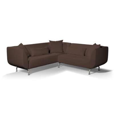 Pokrowiec na sofę narożną 3+2 Strömstad w kolekcji Bergen, tkanina: 161-73
