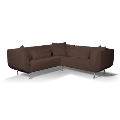 Stromstad 3+2 seater corner sofa cover 161-73 chocolate brown Collection Bergen
