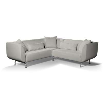 Pokrowiec na sofę narożną 3+2 Strömstad w kolekcji Bergen, tkanina: 161-84