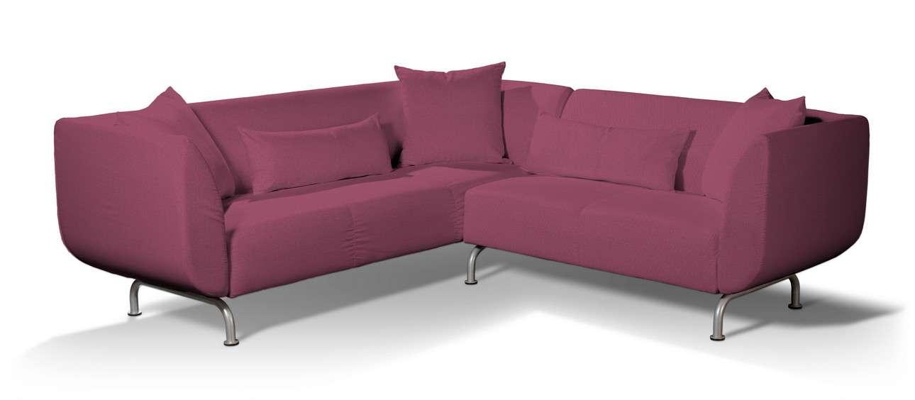 Pokrowiec na sofę narożną 3+2 Strömstad w kolekcji Living, tkanina: 160-44