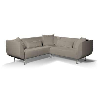 Pokrowiec na sofę narożną 3+2 Strömstad w kolekcji Living, tkanina: 161-53