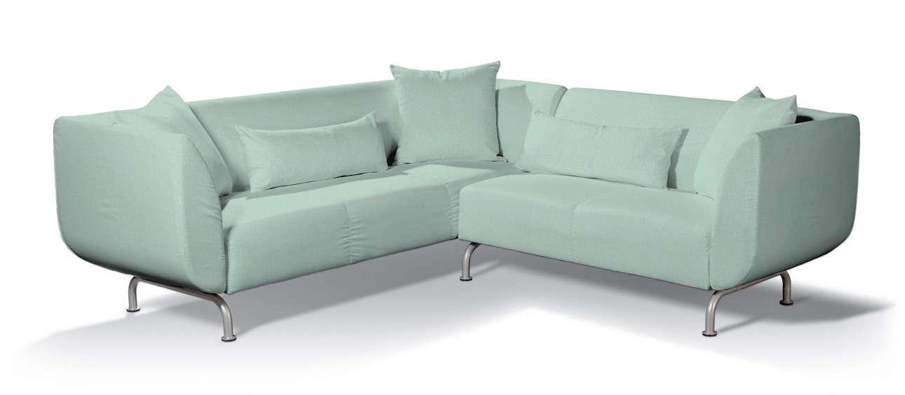 Pokrowiec na sofę narożną 3+2 Strömstad w kolekcji Living, tkanina: 161-61