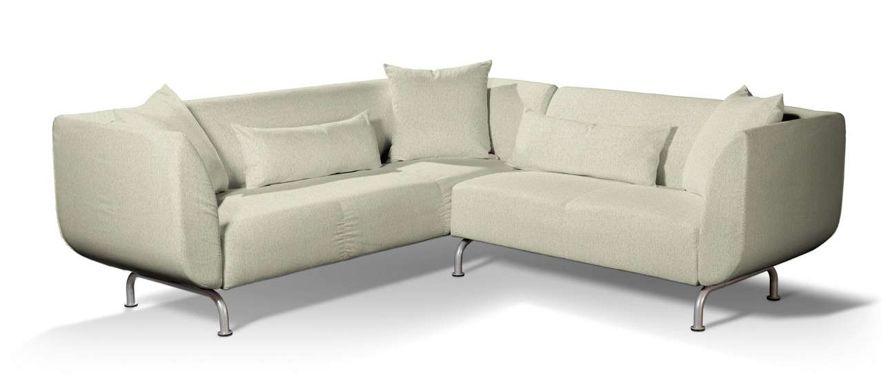 Pokrowiec na sofę narożną 3+2 Strömstad w kolekcji Living, tkanina: 161-62