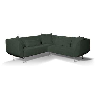 Pokrowiec na sofę narożną 3+2 Strömstad w kolekcji City, tkanina: 704-81