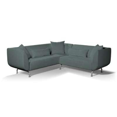 Pokrowiec na sofę narożną 3+2 Strömstad w kolekcji City, tkanina: 704-85