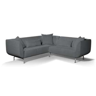 Pokrowiec na sofę narożną 3+2 Strömstad w kolekcji City, tkanina: 704-86
