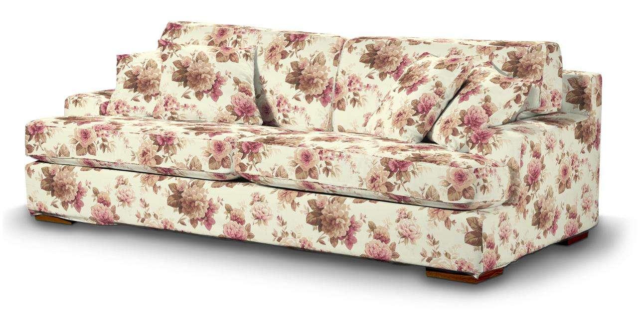 Pokrowiec na sofę Göteborg nierozkładaną Sofa Göteborg nierozkładana w kolekcji Mirella, tkanina: 141-06