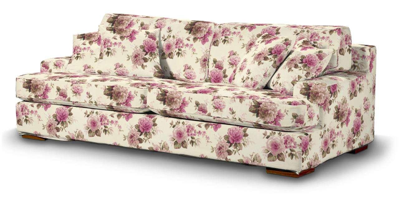 Pokrowiec na sofę Göteborg nierozkładaną w kolekcji Mirella, tkanina: 141-07