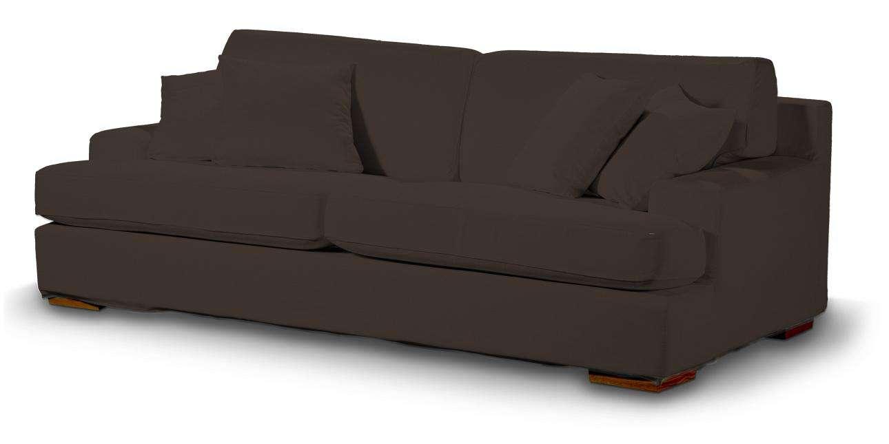 Pokrowiec na sofę Göteborg nierozkładaną Sofa Göteborg nierozkładana w kolekcji Cotton Panama, tkanina: 702-03