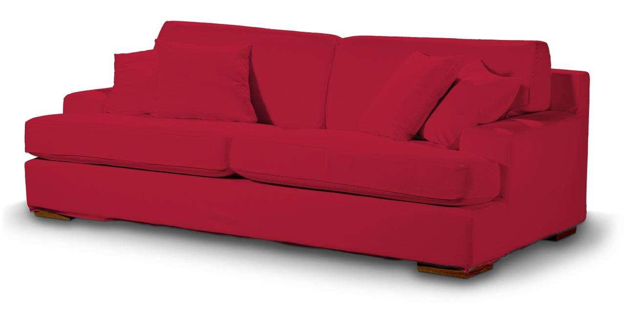 Pokrowiec na sofę Göteborg nierozkładaną Sofa Göteborg nierozkładana w kolekcji Cotton Panama, tkanina: 702-04