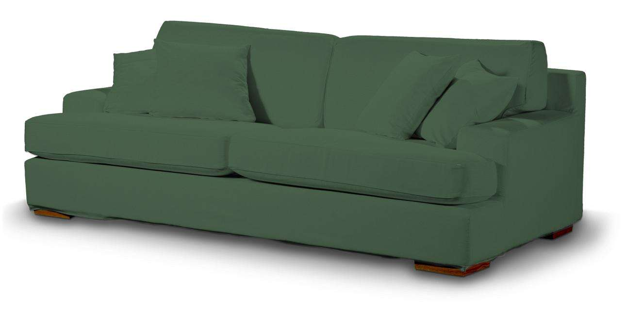 Pokrowiec na sofę Göteborg nierozkładaną Sofa Göteborg nierozkładana w kolekcji Cotton Panama, tkanina: 702-06