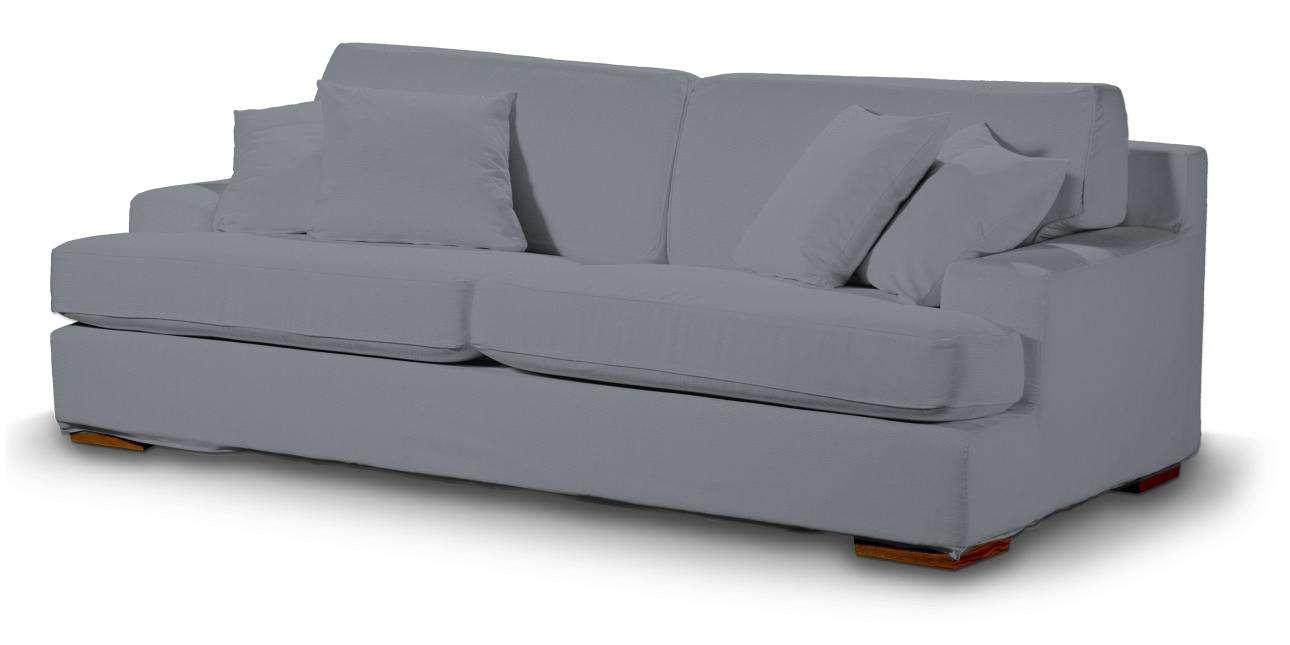 Pokrowiec na sofę Göteborg nierozkładaną Sofa Göteborg nierozkładana w kolekcji Cotton Panama, tkanina: 702-07