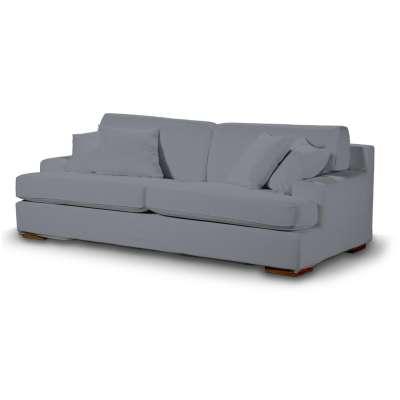 Pokrowiec na sofę Göteborg nierozkładaną w kolekcji Cotton Panama, tkanina: 702-07
