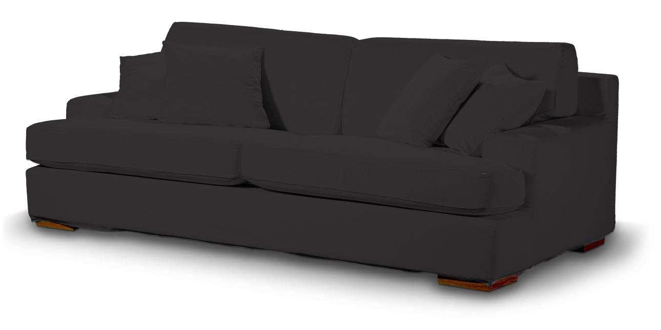 Pokrowiec na sofę Göteborg nierozkładaną Sofa Göteborg nierozkładana w kolekcji Cotton Panama, tkanina: 702-08