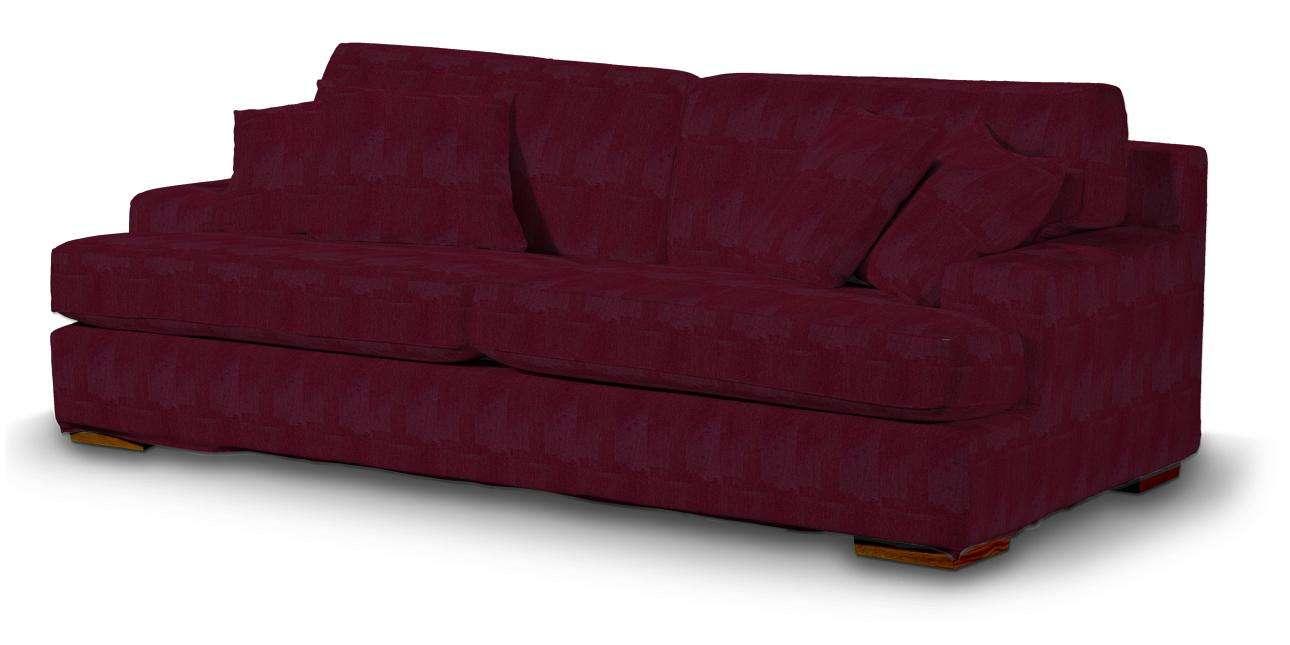 Göteborg klädsel<br>3-sits soffa i kollektionen Chenille, Tyg: 702-19