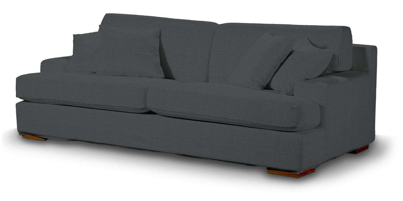 Göteborg klädsel<br>3-sits soffa i kollektionen Chenille, Tyg: 702-20