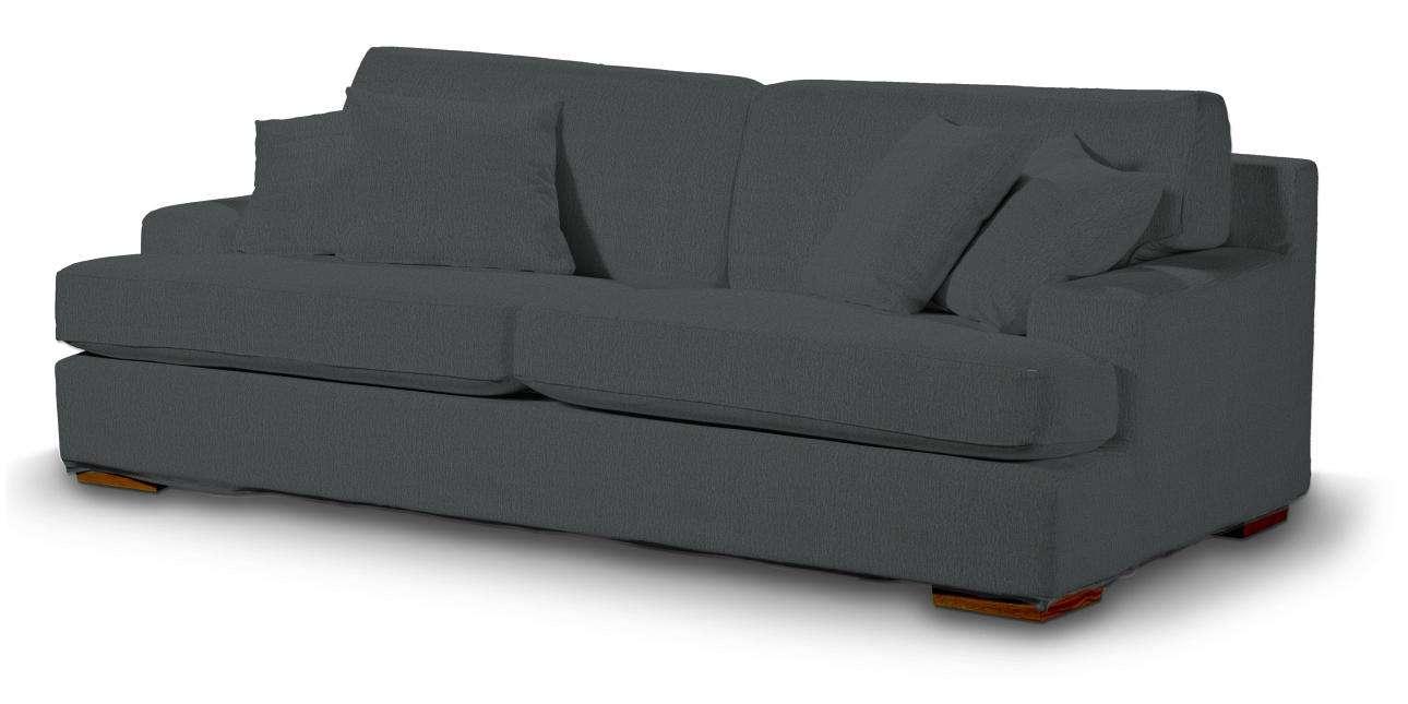 Pokrowiec na sofę Göteborg nierozkładaną w kolekcji Chenille, tkanina: 702-20