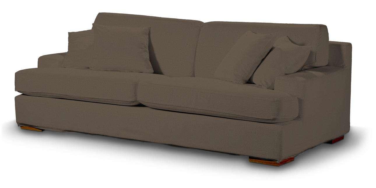 Pokrowiec na sofę Göteborg nierozkładaną w kolekcji Etna, tkanina: 705-08