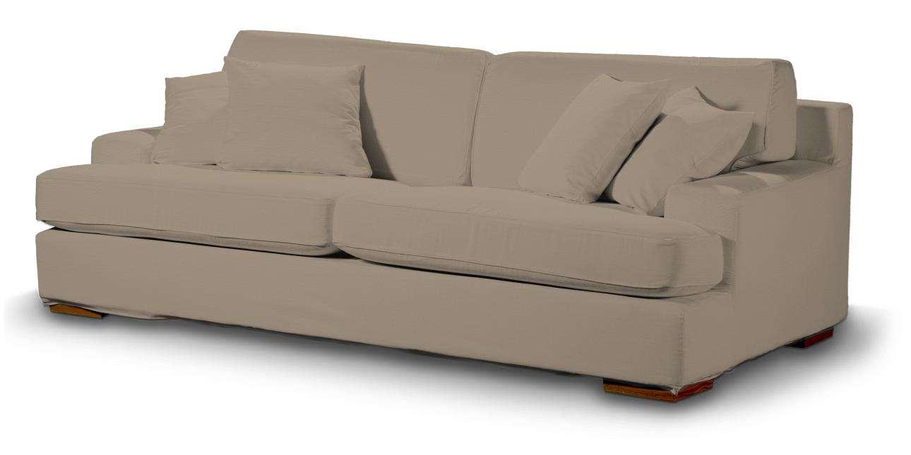 Pokrowiec na sofę Göteborg nierozkładaną Sofa Göteborg nierozkładana w kolekcji Cotton Panama, tkanina: 702-28
