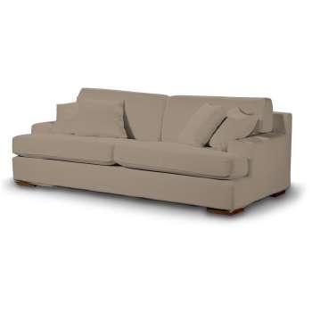 Pokrowiec na sofę Göteborg nierozkładaną w kolekcji Cotton Panama, tkanina: 702-28