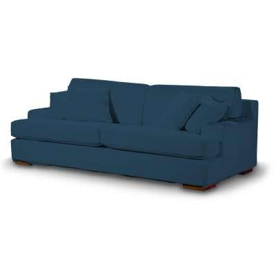 Pokrowiec na sofę Göteborg nierozkładaną w kolekcji Cotton Panama, tkanina: 702-30