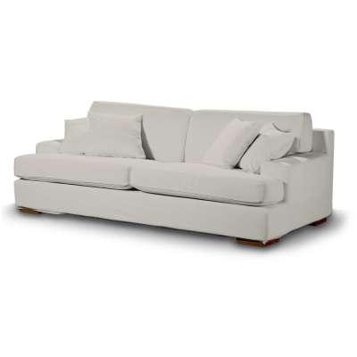 Pokrowiec na sofę Göteborg nierozkładaną w kolekcji Cotton Panama, tkanina: 702-31