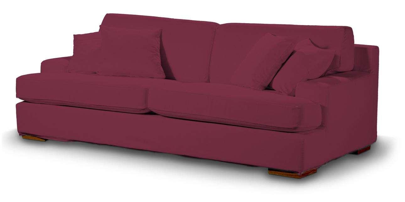 Pokrowiec na sofę Göteborg nierozkładaną Sofa Göteborg nierozkładana w kolekcji Cotton Panama, tkanina: 702-32