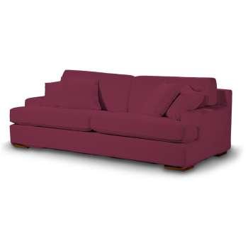 Pokrowiec na sofę Göteborg nierozkładaną w kolekcji Cotton Panama, tkanina: 702-32